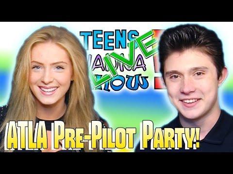 Teens Wanna Know  ATLA PrePilot Party w Mateus Ward & More!