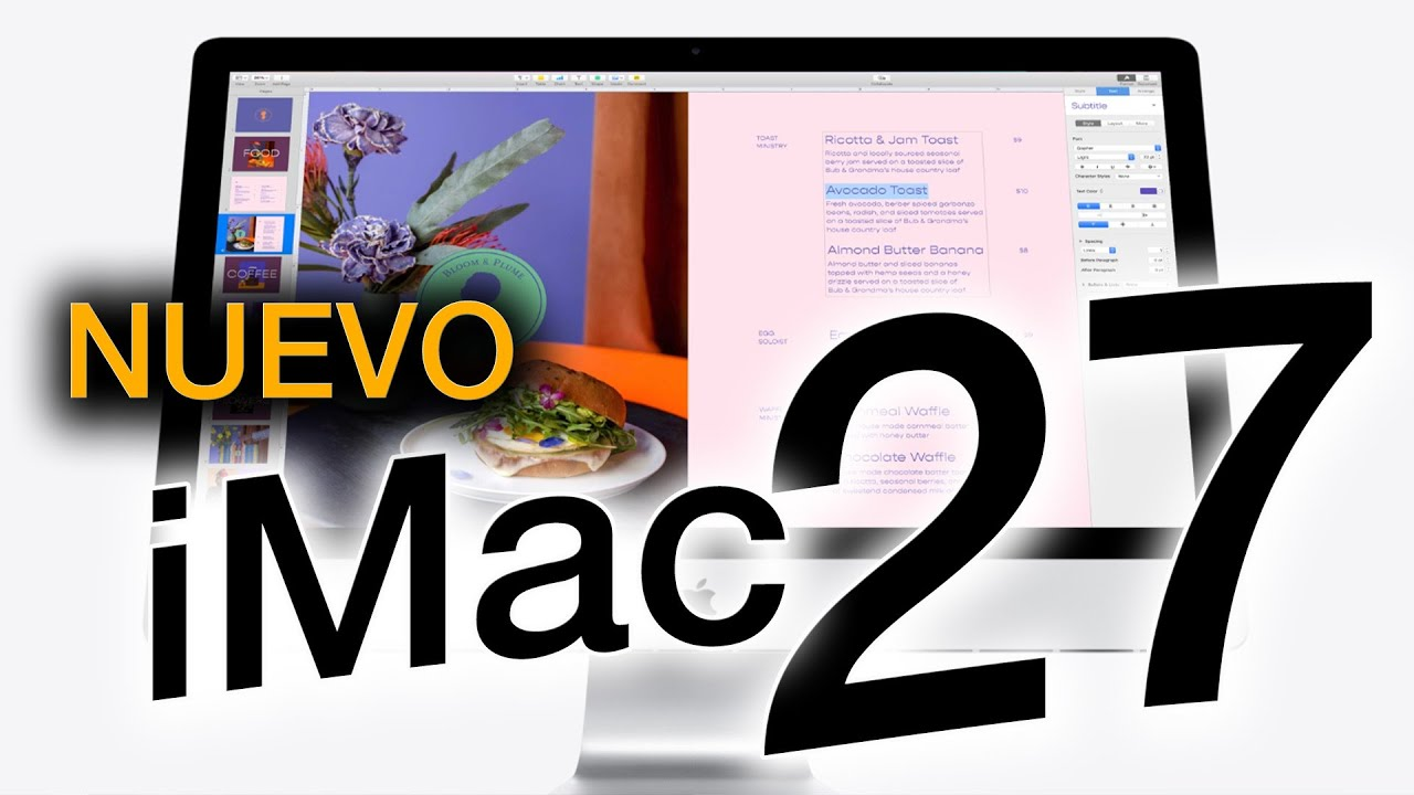 NUEVO iMac de 27': estos son sus mejoras, precios y opciones 🖥