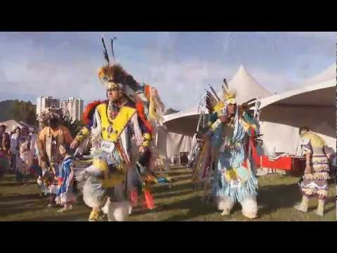 Squamish Nation Pow Wow 2011 FULL REGALIA First Nations Native Dance in Vancouver thumbnail