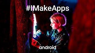 #IMakeApps | Josefin Eklund | Neon light artist | Forza Football | Sweden thumbnail