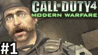 "CoD4 Campaign Part 1 ""Call of Duty 4: Modern Warfare"" PC Gameplay"