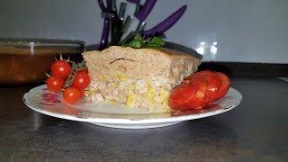 Удивительный пирог к обеду!!! С курочкой и картофелем!!!