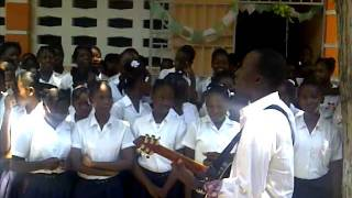 BelO - lakou trankil  ( live by the school children)
