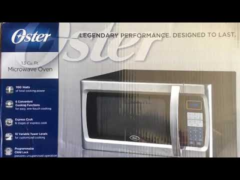 oster 1 3 cu ft review microwave