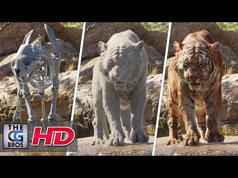 "CGI & VFX Breakdowns ""The Characters of The Jungle Book"" - by MPC"
