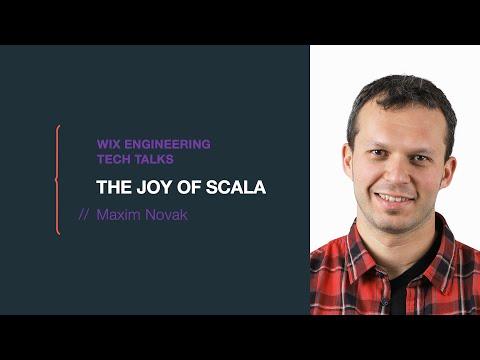The Joy of Scala - Maxim Novak (Hebrew)