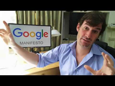Diversity talk: The Google Manifesto