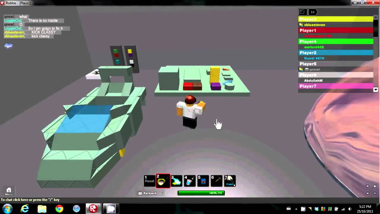 Building Game Roblox