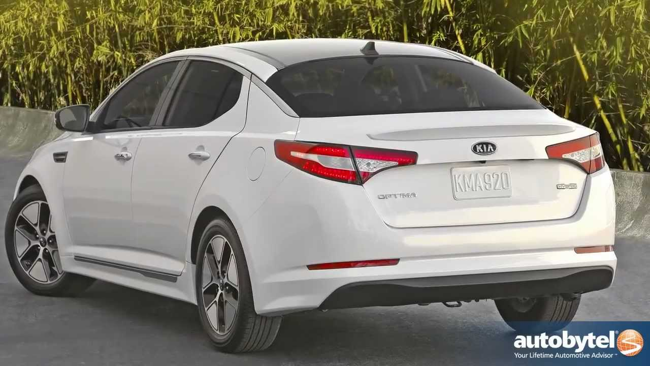 2012 Kia Optima Hybrid Test Drive Car Review Youtube