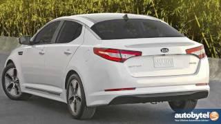 2012 Kia Optima Hybrid Test Drive & Car Review