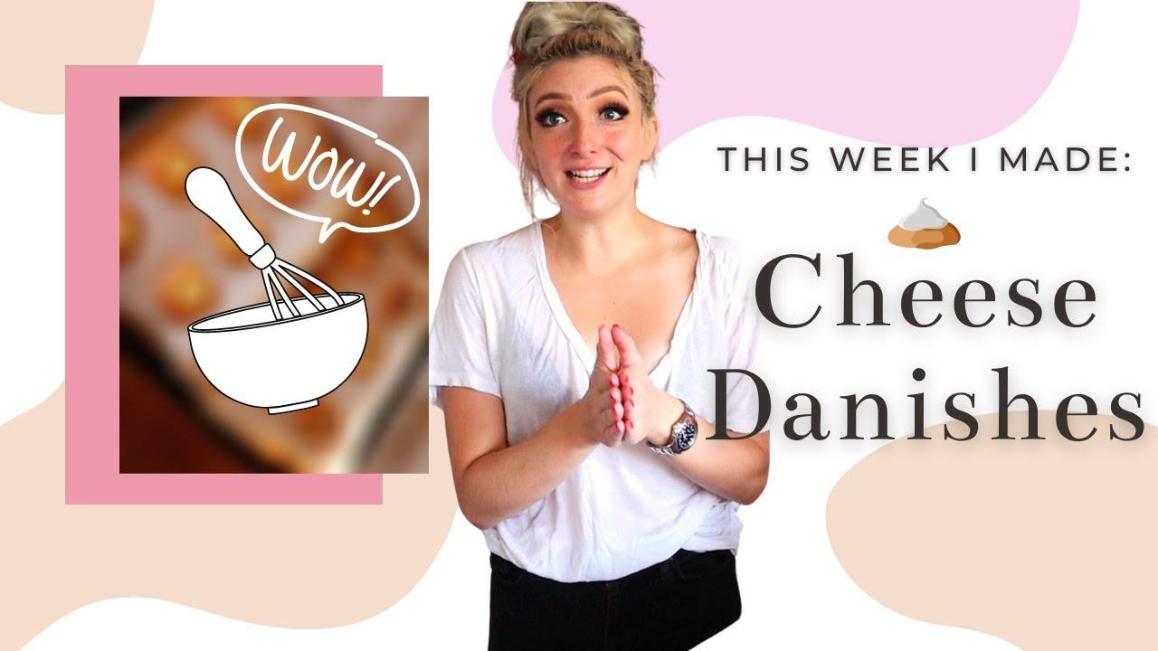 This Week I Made: CHEESE DANISHES! | Irene Walton