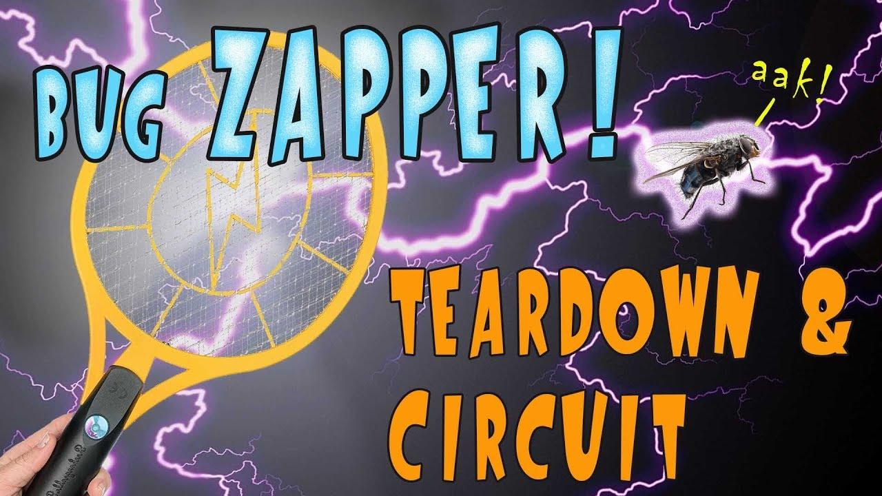 Bug Zapper Teardown & Circuit