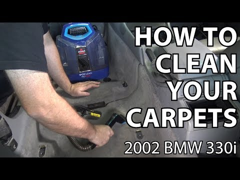 BMW E46 How to Clean Your Carpets
