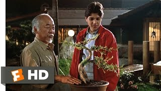 The Karate Kid Part III - Strong Roots Scene (7/10) | Movieclips