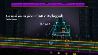Rocksmith 2014 - Un misil en mi placard (MTV Unplugged) - Soda Stereo (Lead)