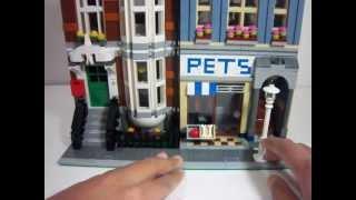 Lego Modular Building Pet Shop Review