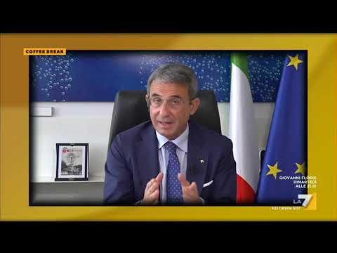 Plastic Tax, il Ministro dell'Ambiente Sergio Costa: 'Se aiuti le aziende in questo passaggio, ...