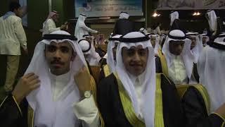 حفل تكريم الأستاذ حمدان بن عبد الرحمن الشرقي قائد ثانوية ابن سعدي بعنيزة