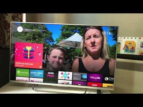 Sony Bravia Android Smart 4k Tv Review 2018 | Best Smart TV Apps 2018 | Best 4k tv for gaming