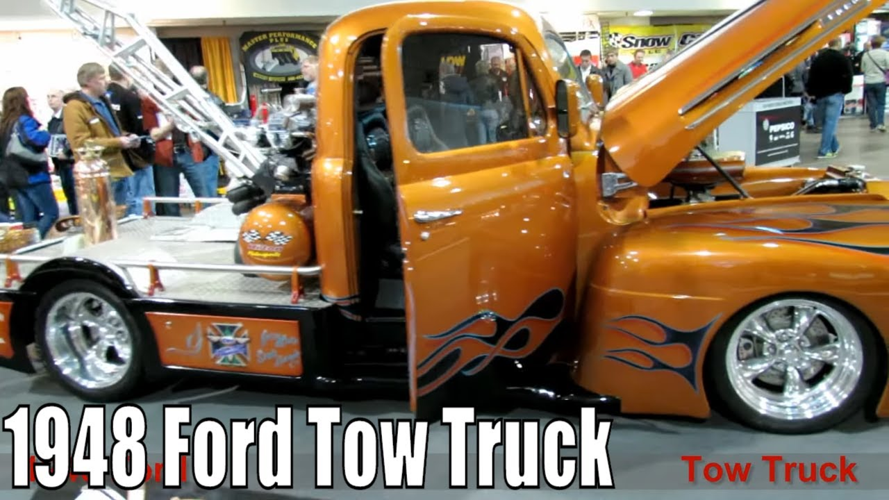 1948 Ford Tow Truck Youtube