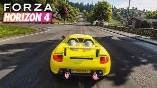 Forza Horizon 4 | Porsche Carrera GT Gameplay [1440p60]