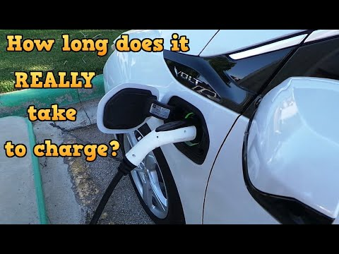 Electric Car Charging, How long does it REALLY take?