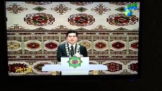 トルクメニスタン朝7時時前のテレビ