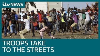 Deadly violence hits Zimbabwe's streets after election | ITV News