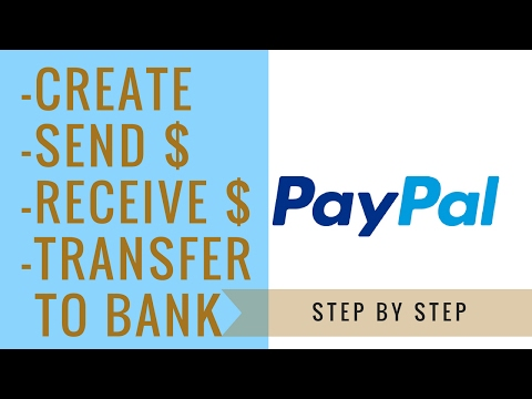 How can i send money from my bank account to paypal