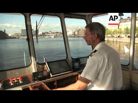 """""""Supercharged"""" electric ferry launched in Sweden"""