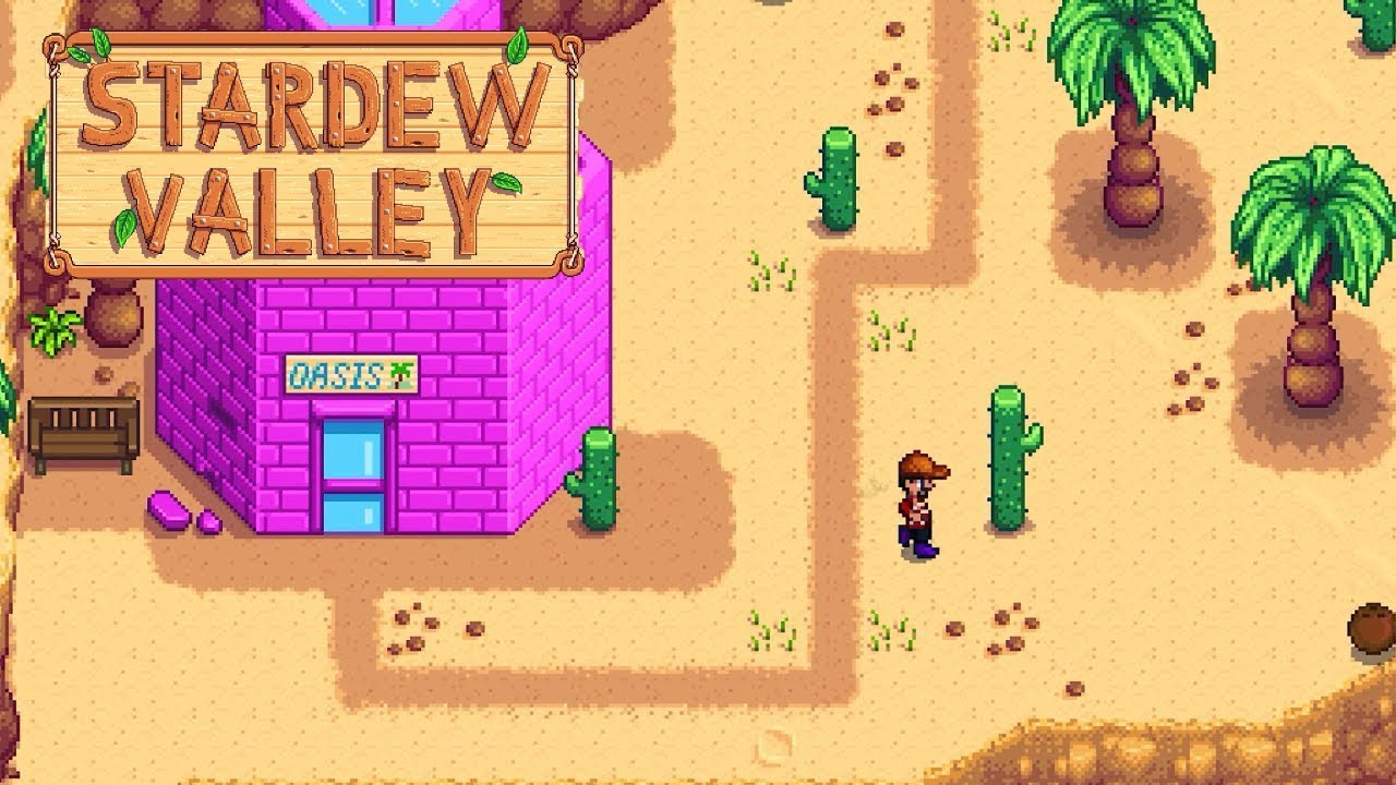 stardew valley how to get to calico desert