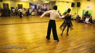 Michael Badong- Crystal Phuong: Rumba dance performance Thumbnail