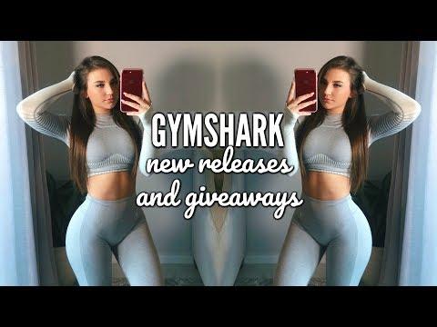 Reviewing Gymshark New Releases/ Sneak Peeks | GIVEAWAY & Leggings Try on Haul