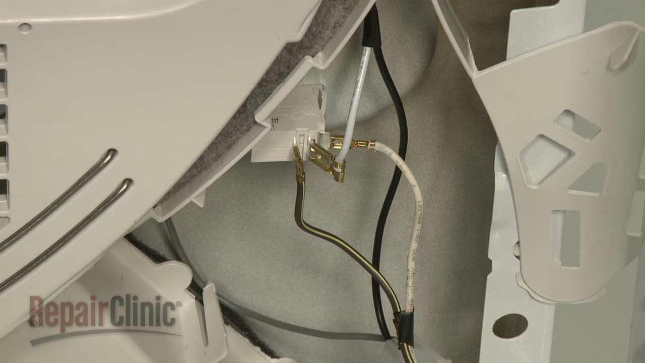 GE Dryer Door Switch Replacement, Repair #WE4M415  YouTube