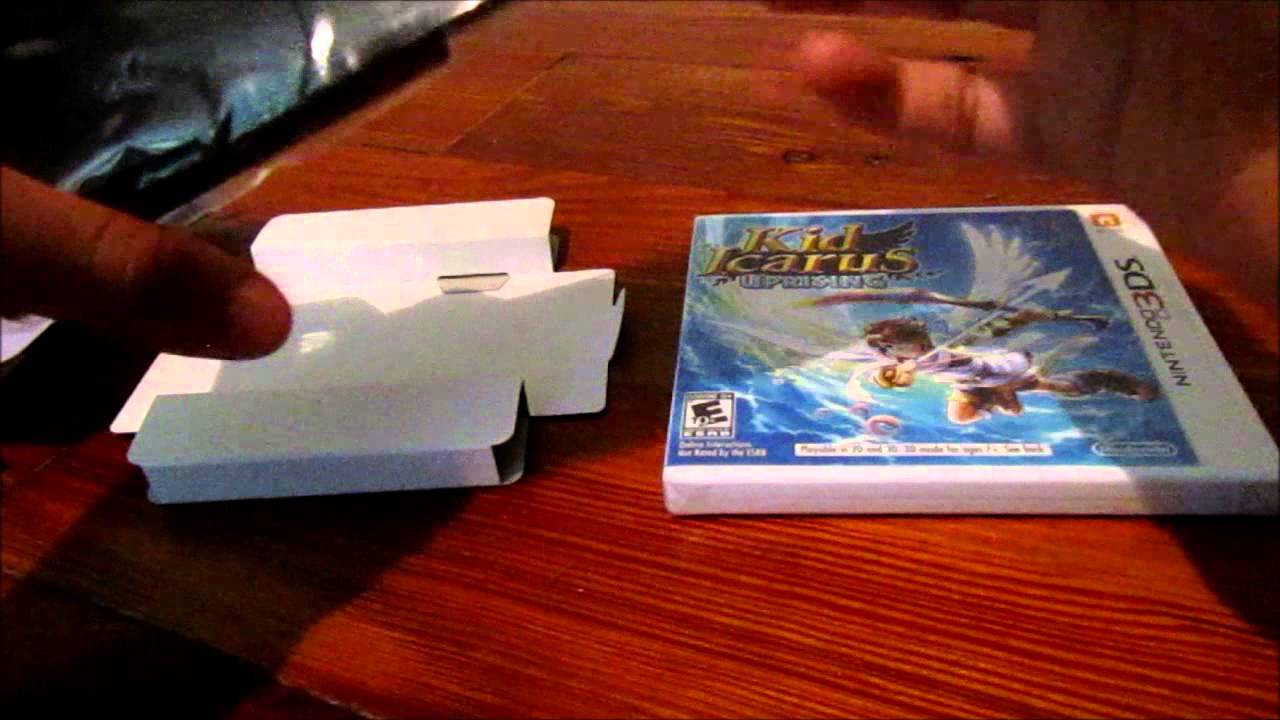 Kid Icarus Uprising Unboxing