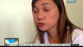 24 Oras: Misis ni Camarines Norte Gov. Tallado, naglayas daw dahil sa takot sa mister