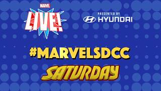 Marvel LIVE! at San Diego ComicCon 2018 Day 3