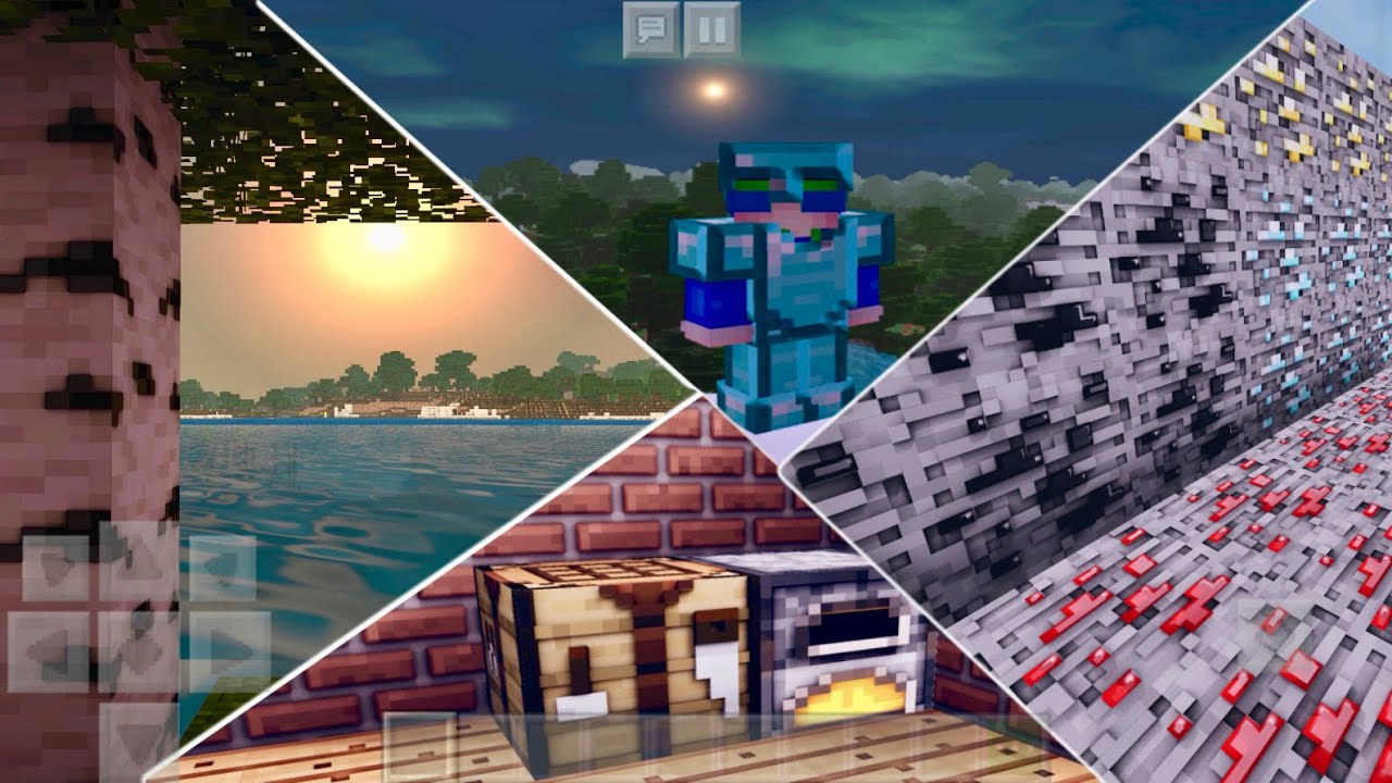 Best 3D Texture & ULTRA Shader Pack For MCPE 1.16+ (S3D 4.0 Pro) Realistic Combination