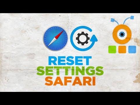How To Reset Safari Settings In MacOS