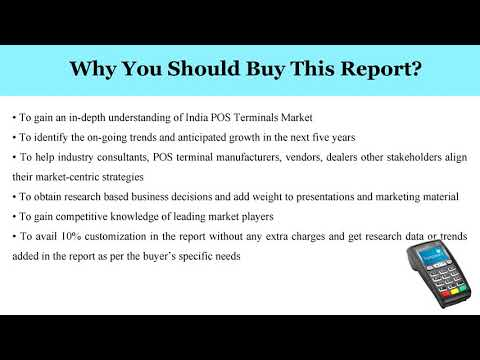 India POS Terminals Market to Exhibit a CAGR of More Than 11% During 2017-2022