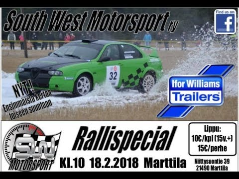 SouthWest Motorsport RalliSpecial 2018, Marttila  (Crash&Action)