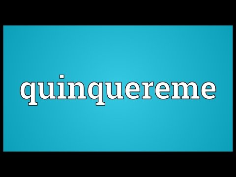 Header of quinquereme