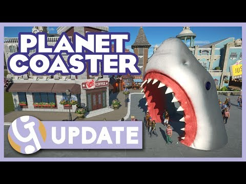 ⭐ NEW SCENERY! | Planet Coaster 1.2 Spring Update