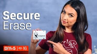 How To Format A Hard Drive Like The NSA! 💻 DIY in 5 Ep. 16