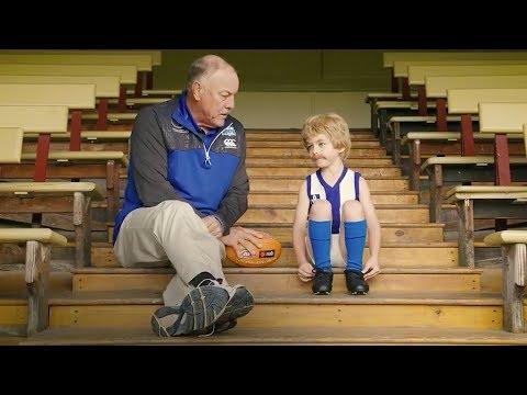 Malcolm Blight meets his NAB Mini Legend