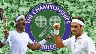 10 Stats to get you ready for Roger v Rafa at Wimbledon