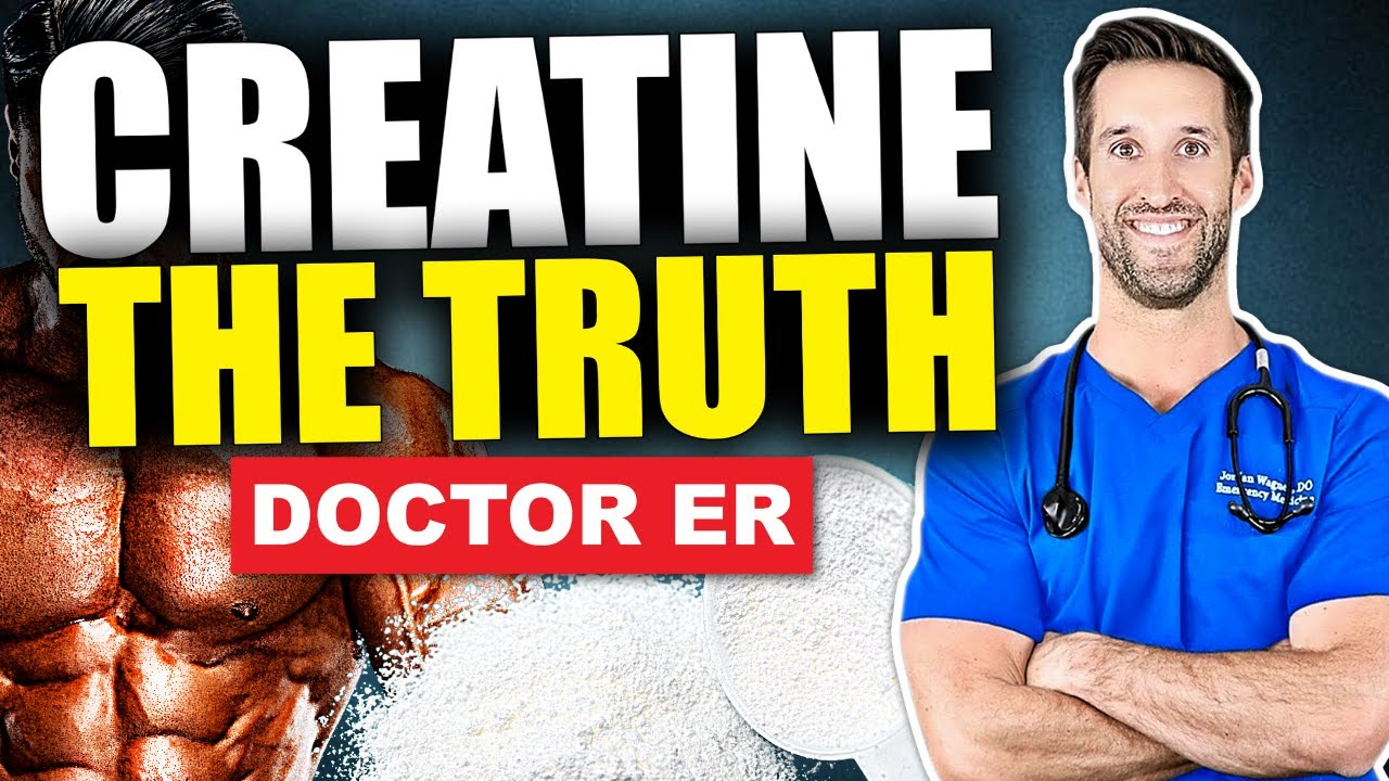 CREATINE EXPLAINED! — What Is It & What Does Creatine Do? | Doctor ER
