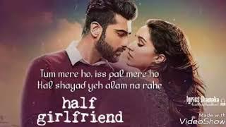 Tum Mere ho Half girlfriend Instrumental song