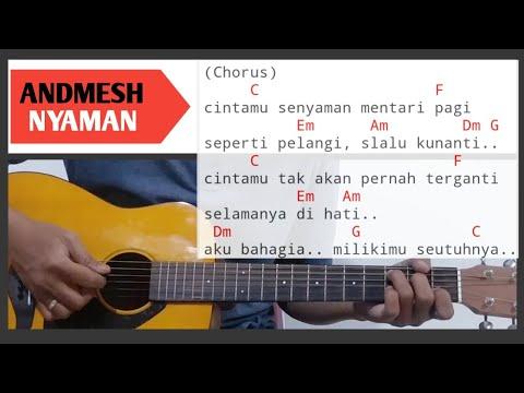 chord-gitar-nyaman-andmesh- -tutorial-gitar-mudah-di-mengerti-pemula-by-afwa