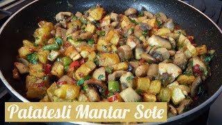 Patatesli Mantar Sote - Naciye Kesici - Yemek Tarifleri